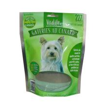 Bolsa inferior plana del alimento de perro / bolso de aluminio del alimento para animales / bolsa de plástico