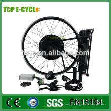 CE SUPERIOR barato 500 W roda traseira kit de conversão de bicicleta elétrica made in China