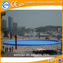Piscinas de agua redondas inflables comerciales, piscinas de agua para caminatas