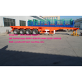 Sinotruk cimc Deck commercial flatbed trailers 40ft