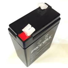 6V 2.8Ah Batería de plomo sin necesidad de mantenimiento 6v 2.8ah batería de plomo recargable VRLA