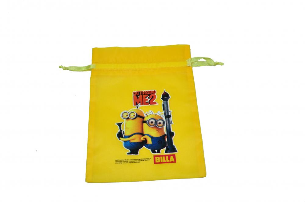 Small Nylon Drawstring Pouch For Children Toys