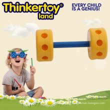 Brinquedos Plástico Blocks Natural & Cor Educacional Preschool Toddler