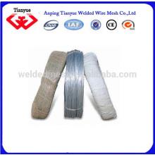 16 # Electro galvanizado de alambre de hierro para los cables de unión Anping Real Factory