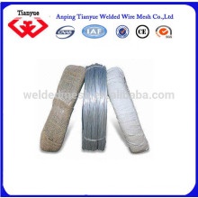 16 # Fil de fer électro-galvanisé pour relier les fils Anping Real Factory