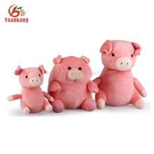 juguetes de peluche cerdo lindo animal de peluche de felpa al por mayor sin mínimo