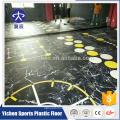 Estúdio de dança piso de espuma de PVC / ginásio usado