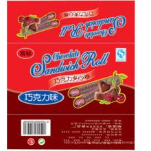 Шоколадный рулет пленкой/закуски рулонная пленка/упаковочная пленка для шоколада