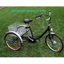 Strong Multi-Speed ​​Elder Electric Cargo Trike (FP-ETR002)