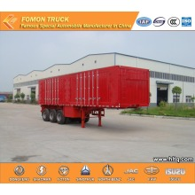 3 axles 60000kg Van semi trailer