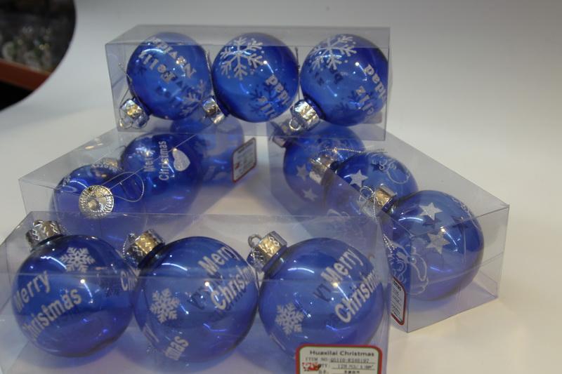 Custom Christmas Balls