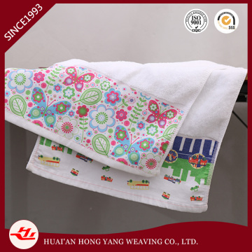 Sublimation Printed Design White Hand Towel