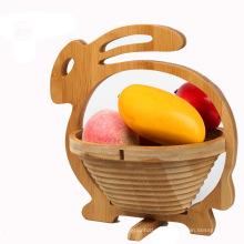 10 diseños de cesta plegable de madera barata