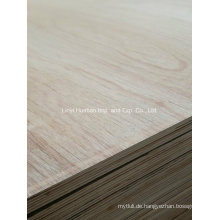 18mm Laminiertes Sperrholz für Schränke E0 Kleber Möbel Grade