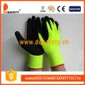 13 Gauge fluoreszierender / hochsichtbarer gelber Acryl-Handschuh mit vollem Liner-Dnl733