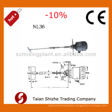 powder special NL36 flexible shaft Roating level switch