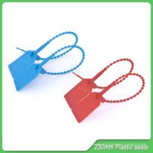 Sellos de plástico, 230 mm de longitud, sellos de plástico de seguridad, sello autoblocante