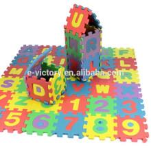 36PCS Baby Child Split Joint Number Alphabet EVA Foam Puzzles Mat Maths Letters Educational Toy Christmas Gift