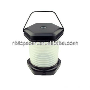 aa battery 8 led folding camping lantern