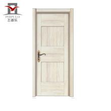 Porte d'entrée en bois en acier d'origine