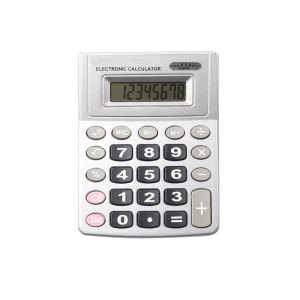 8 Digits Big Button Office Desktop Calculator with Voice