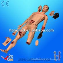 ISO Advanced Full Body Trauma Simulator, Patient Care Manikin