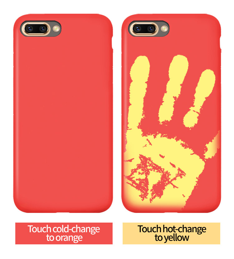 Red Iphone8 Shell