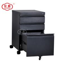 Armário de armazenamento de metal móvel pedestal armário de armazenamento de metal moderno