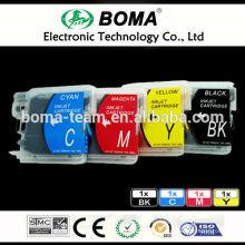 LC980 LC990 LC1100 Leere Nachfülltintenpatronen für Drucker Brother DCP-165C 185C 385C 535CN