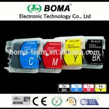 LC980 LC1100 LC990 пустые перезаправляемые картриджи чернила для брата DCP-165C 185C 385C 535CN принтеров
