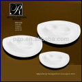 special moon shape ceramic plates