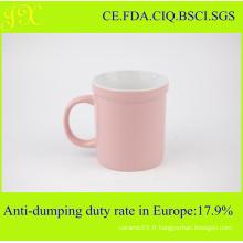Tasses à café en céramique glacée couleur