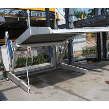 Sistema de estacionamiento mecánico hidráulico (mini-tipo)
