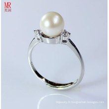 Anneaux de perles d'eau douce