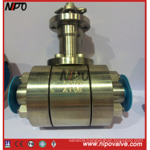 Forged Steel Floating Ball Valve with Extended Stem