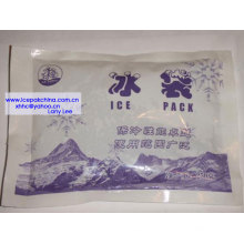 Fill ice packs for keeping cold of Vaccine blood fruite cake chocolate