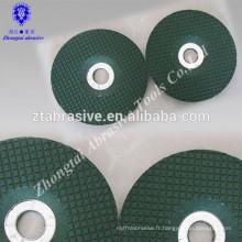 Disque de roues en métal avec mandrin pour moulin à matrice