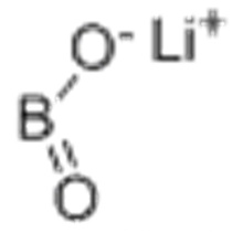 Ácido bórico (HBO2), sal de lítio CAS 13453-69-5