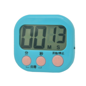 Big LCD screen timer with magnetic timer can printing logo