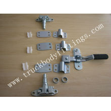 Trailer door gear/truck rear door lock, truck body parts
