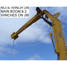 20tons 15m Hydraulic Knuckle Boom Marine Crane