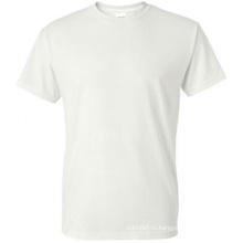 Футболка с длинными рукавами 100% хлопок Белая футболка