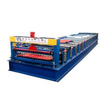 chine fabricant botou xinnuo 996 automatique coloré toit tuile zink machine