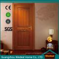 Porta interior de madeira de carvalho para casa nova