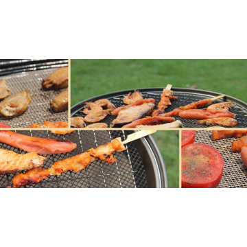 Miracle Grill with Non-stick BBQ Mat