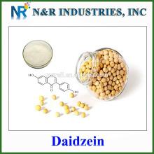 Cantidad grande en la acción y buen precio Daidzein en polvo CAS No486-66-8