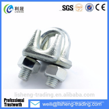 Metal concrete electrical wire cable clip