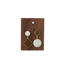 different size factory Wholesale wooden Jewelry display rack