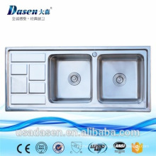 stainless steel portable kitchen sink with accessories for restaurant by overseas trading company