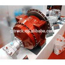 Motor hidráulico del camión mezclador / Motor del mezclador del reductor / Camión de tránsito Mezclador concreto Reductor de velocidad de la caja de engranajes